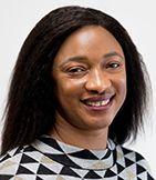 Bintou Sacko est une membre du comité directeur du RIF Manitoba, Réseau en Immigration Francophone du Manitoba